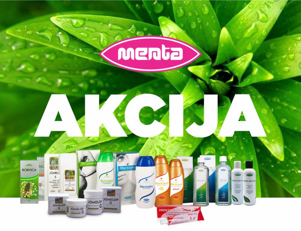 Vikend akcija Mentinih proizvoda AKCIJA